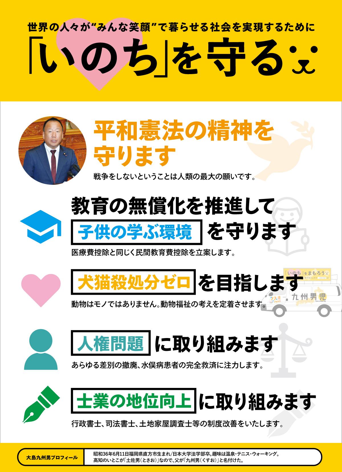 大島九州男