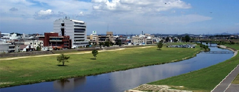 遠賀川河川改修